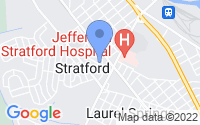 Map of Stratford NJ
